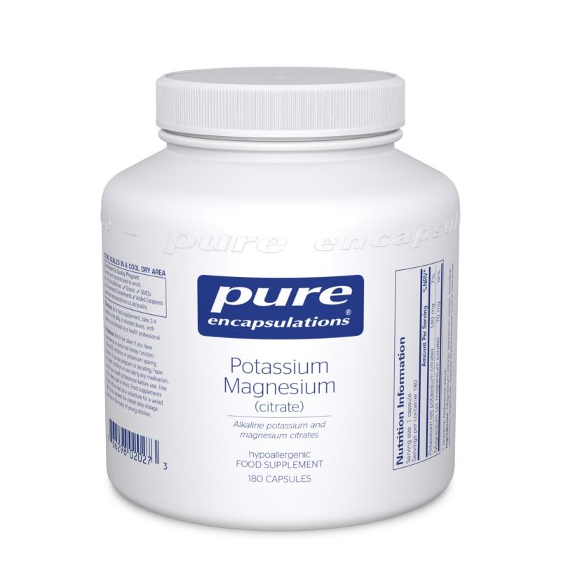 Potassium Magnesium citrate  180tk