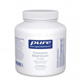 Potassium Magnesium citrate  180 caps